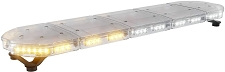 ABRAMS Amber and White LED RUGEYE 47-INCH ULTRA BRIGHT LIGHT BAR