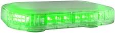 ABRAMS GREEN LED RUGEYE 10-INCH ULTRA BRIGHT LIGHT BAR