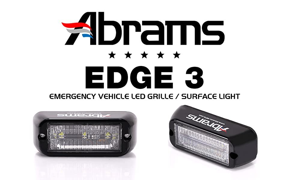 Abrams Edge 3 LED Grill Light