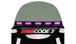 PURPLE LED CODE3 FUNERAL - Electra Glide only