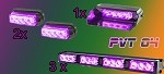 PURPLE LED CUSTOM ENTRY LEVEL FUNERAL PACKAGE PVT 04