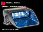 FEDSIG VIPER S2 SPECTRALUX LED MULTI-COLOR SINGLE DASH & DECK LIGHT