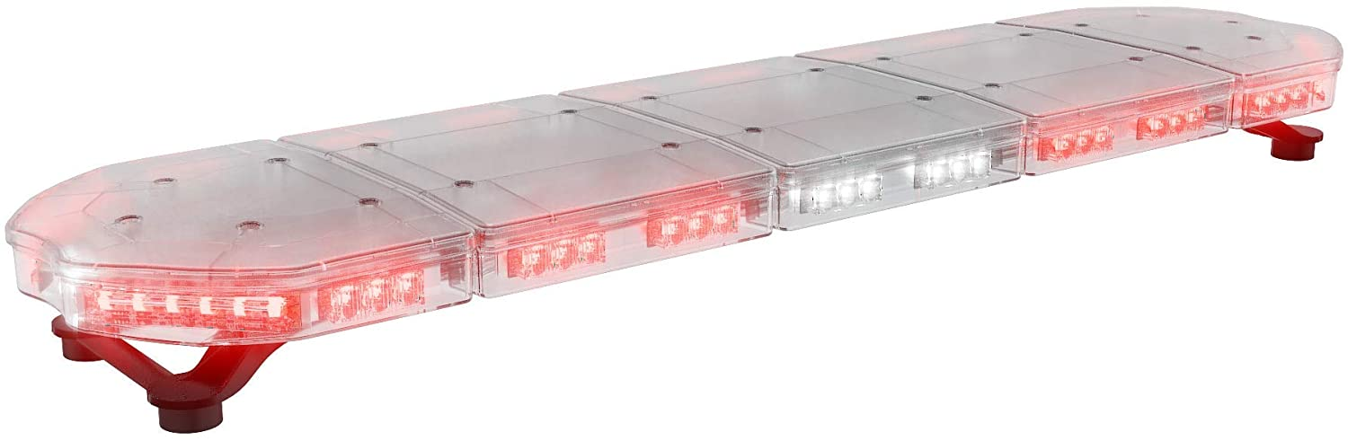 ABRAMS Red LED RUGEYE 47-INCH ULTRA BRIGHT LIGHT BAR