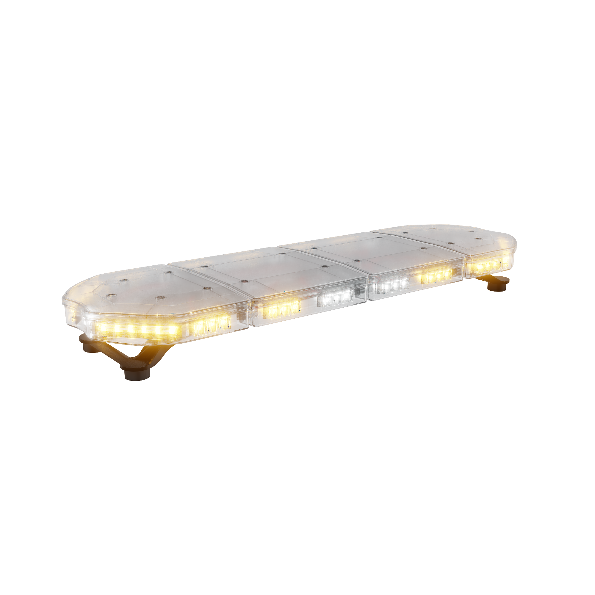 ABRAMS Amber LED RUGEYE 37-INCH ULTRA BRIGHT LIGHT BAR