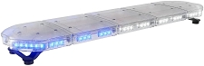 ABRAMS Blue and White LED RUGEYE 47-INCH ULTRA BRIGHT LIGHT BAR