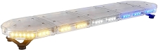 ABRAMS Amber and Blue LED RUGEYE 47-INCH ULTRA BRIGHT LIGHT BAR