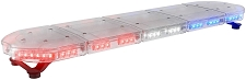 ABRAMS Red and Blue LED RUGEYE 47-INCH ULTRA BRIGHT LIGHT BAR