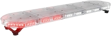 ABRAMS Red and White LED RUGEYE 47-INCH ULTRA BRIGHT LIGHT BAR