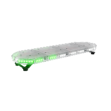 ABRAMS Green and White LED RUGEYE 37-INCH ULTRA BRIGHT LIGHT BAR